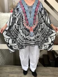 Julietta zomer poncho (extra groot)/in meerdere kleuren
