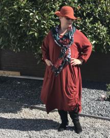 Moonshine jersey tricot katoen A-lijn jurk
