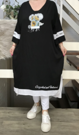 Maya Longa oversized A-lijn jurk