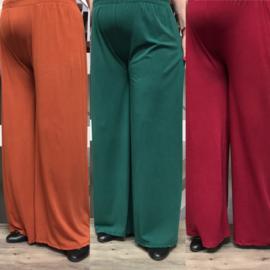 LaBass jersey wiscose stretch broek /in meerdere kleuren