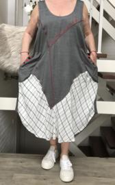VIA VIA  A- lijn viscose jurk