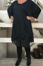 May  oversized A-lijn jurk apart (extra groot)