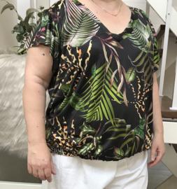 ITALIA oversized  blouse stretch
