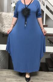 SPLENDORE STELLA A-lijn jersey jurk stretch /in meerdere kleuren
