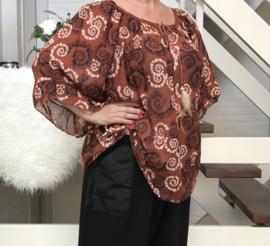 ITALIA katoen blouse