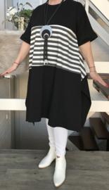 ITALIA MODE katoen  A-lijn jurk /in meerdere kleuren