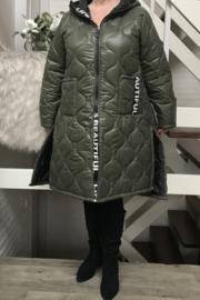 ITALIA gewatteerde jas  /in meerdere kleuren