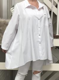 PTAK katoen oversized tricot top/blouse