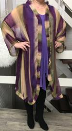 Margaret oversized A-lijn blazer/jas  (extra groot)  apart