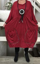 Mary oversized A-lijn jurk apart (extra groot)