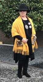 Italia super zacht winter poncho/sjaal