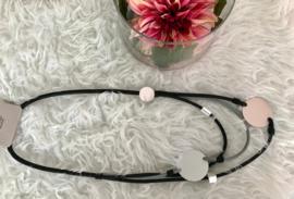 Fashion design jewellery rubber collier 106