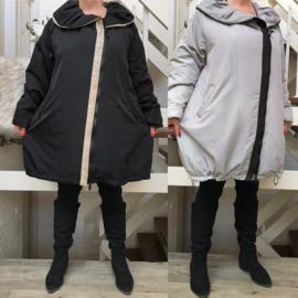 SINNE design.. A-lijn waterbestendig gewatteerde winter jas/in meerdere kleuren