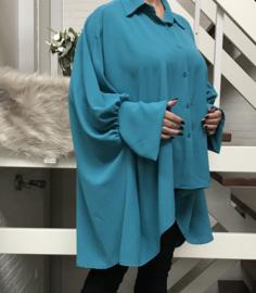 ITALIA viscose blouse/hemd /in meerdere kleuren