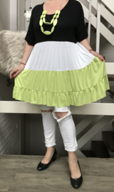 ITALIA  viscose A-lijn tuniek/jurk/in meerdere kleuren
