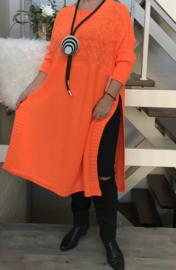 ITALIA gebreide jurk/top apart /in meerdere kleuren