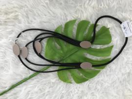 Fashion design jewellery rubber collier 51