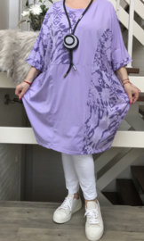 ITALIA katoen jurk stretch /in meerdere kleuren
