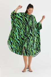 ITALIA oversized viscose A-lijn jurk/hemd met zakken(extra groot)/in meerdere kleuren