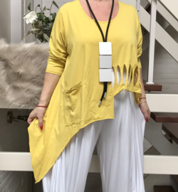 Moonshine oversized  katoen tricot top apart/in meerdere kleuren