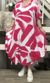 KEKOO design de modieuze kleuring A-lijn jurk/in meerdere kleuren