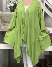 Moonshine oversized jersey  katoen vest stretch/in meerdere kleuren