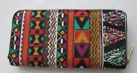 Ibiza look portemonnee /verkrijgbaar in meer kleuren