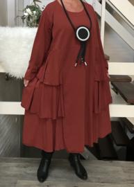 Moonshine jersey katoen A-lijn jurk/in meerdere kleuren