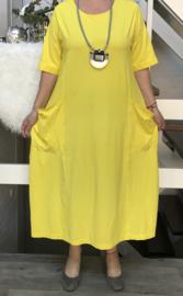 Vincenzo Allocca katoen  A-lijn  jurk apart (extra groot)