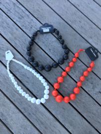 Fashion Juwelry dikke kralen/ meerdere kleuren