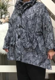 Vincenzo Allocca oversized waterdicht  korte jas apart ( extra groot)/in meerdere kleuren