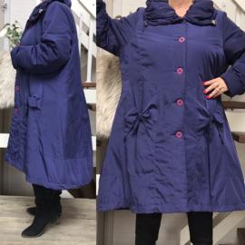 SINNE design.. A-lijn waterdicht gewatteerde winter jas