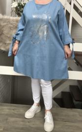 ITALIA jeans katoen tuniek