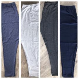 Italia Bensini slim katoen/lycra basic legging/in meerdere kleuren