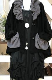 Vincenzo Allocca super zacht korte jas apart ( extra groot)