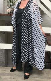 NEW ANN oversized bolletjes blazer/jas (extra groot)