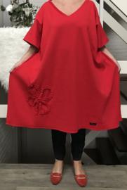 Audrey oversized  tuniek/poncho apart (extra groot)