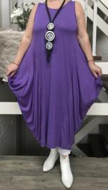 ITALIA MODE viscose tricot A-lijn jurk stretch