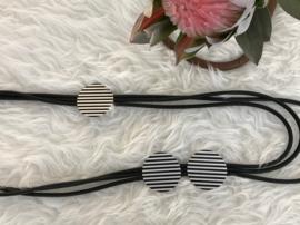 Fashion design jewellery rubber collier 073