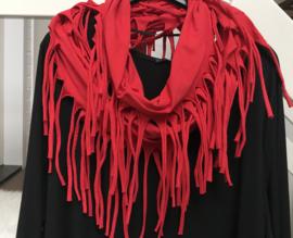 Moonshine cirkel sjaal met franjes apart /in meerdere kleuren