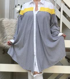 SEE viscose A-lijn  hemd/tuniek/blouse /in meerdere kleuren