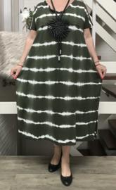 ITALIA katoen tricot jurk /in meerdere kleuren