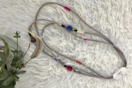 Fashion design jewellery rubber collier 8