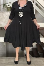 Boris jersey A-lijn jurk