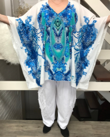 Jackie zomer poncho (extra groot)/in meerdere kleuren
