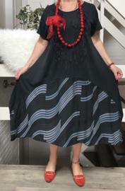 ITALIA katoen jurk (extra groot)