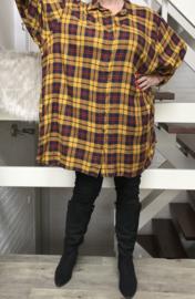 ITALIA jersey viscose hemd/tuniek /in meerdere kleuren