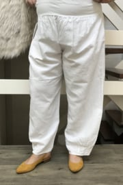 ITALIA linnen broek/in meerdere kleuren