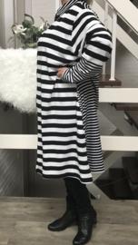 Vincenzo Allocca strepen blazer/jurk