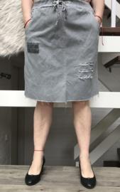 Moonshine de modieuze kleuring oversized rok stretch  /in meerdere kleuren